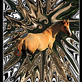 Pale Horse Print by Aidan Moran