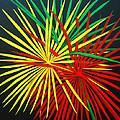 Palms Bursting by Roseann Gilmore