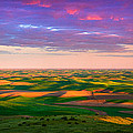 Palouse Land And Sky by Inge Johnsson
