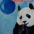 Panda Party Print by Michael Creese