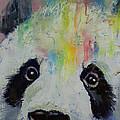 Panda Rainbow Print by Michael Creese