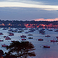 Panoramic Of The Marblehead Illumination by Jeff Folger
