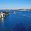 Panoramic Sydney Harbour by Kaye Menner