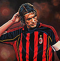 Paolo Maldini by Paul Meijering