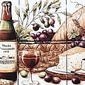 Pardo Vineyards Wine And Cheese by Julia Sweda