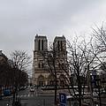 Paris France - Notre Dame De Paris - 011311 by DC Photographer