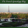 Paris In The Fall With Fgb Border by A Morddel