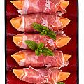 Parma Ham And Melon by Jane Rix