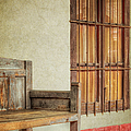 Part Of A Bench by Joan Carroll
