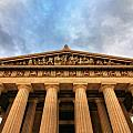 Parthenon From Below by Dan Sproul