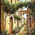 Passando Sotto L'arco by Guido Borelli