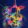Passion Nectar - Circling The Flower Of Paradise by Menega Sabidussi