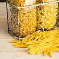 Pasta Shapes Still Life by Edward Fielding