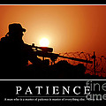 Patience Inspirational Quote by Stocktrek Images