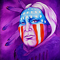Patriot Print by Robert Martinez