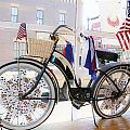 Patriotic Bicycle by Cindy Archbell
