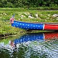 Patriotic Canoe #1 by Nikolyn McDonald