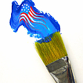 Patriotic Paint by Diane Diederich