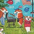 Patriotic Pups by Margaryta Yermolayeva