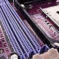 pc motherboard Print by Jose Elias - Sofia Pereira