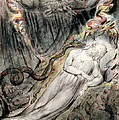 Pd.20-1950 Christs Troubled Sleep by William Blake