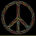 Peace Symbol - 0202 by Variance Collections