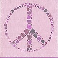 Peace Symbol Design - 42ct2b by Variance Collections