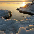 Peaceful Moment On Lake Superior by Sandra Updyke
