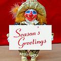 Peaches - Season's Greetings by David Wiles