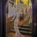Peacock Room Door by Diane Wood