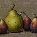 Pear And Figs by Clinton Hobart