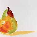Pear In Autumn