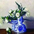 Peony Blossoms by Rick Hansen