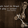 People Tend To Forget That Play Is Serious by Edward Fielding