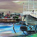 Perkins Cove Maine Print by Scott Nelson