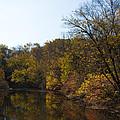 Perkiomen Creek In Autumn by Bill Cannon