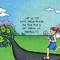 Perseverance Print by Sarah Batalka