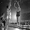 Pete Maravich Jump Shot by Retro Images Archive