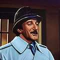 Peter Sellers As Inspector Clouseau  by Paul Meijering