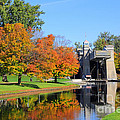 Peterborough Lift Lock by Charline Xia