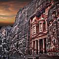 Petra The Treasury by Dan Yeger
