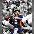 Peyton Manning Broncos by Joe Hamilton