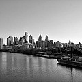 Philadelphia Black And White by Bill Cannon