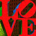 Philadelphia Love - Painterly V1 by Wingsdomain Art and Photography