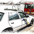 Philadelphia Police Car by Fiona Messenger