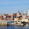 Philadelphia River View by Bill Cannon