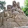 Phillies Sandsculpture by Barbara McDevitt