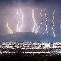 Phoenix Arizona City Lightning And Lights by James BO  Insogna