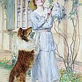 Picking Roses by William Henry Margetson