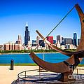 Picture Of Chicago Adler Planetarium Sundial by Paul Velgos